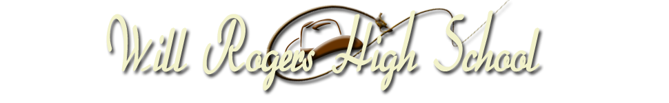 Will Rogers High School  Logo